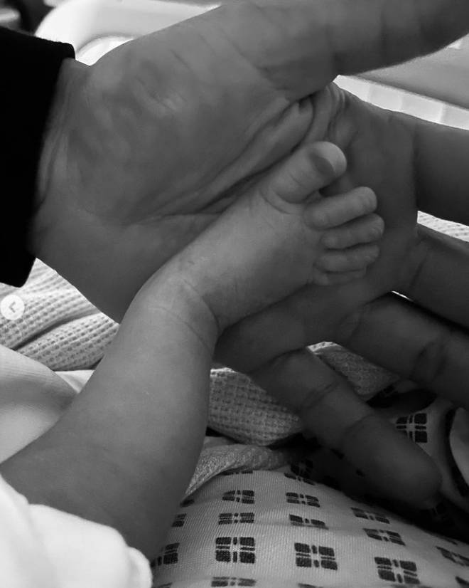 There's nothing cuter than tiny baby feet