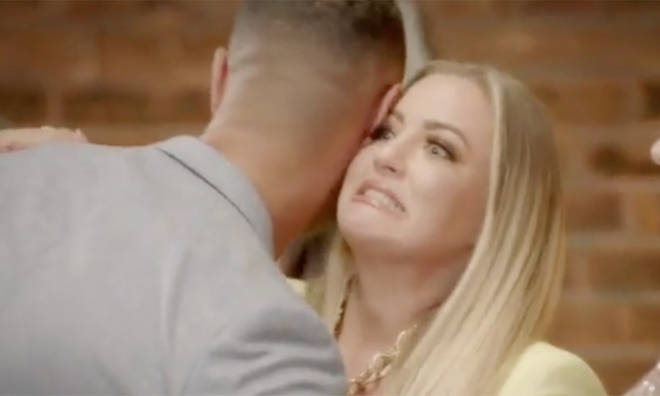 Megan and Jordon come face to face on the MAFS UK reunion show