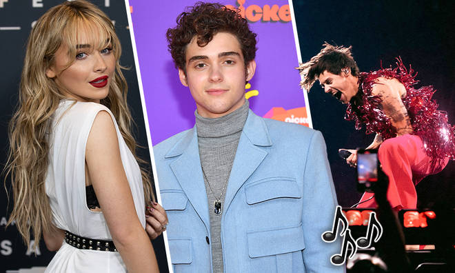 Sabrina Carpenter and Joshua Bassett got to see Harry Styles live in concert