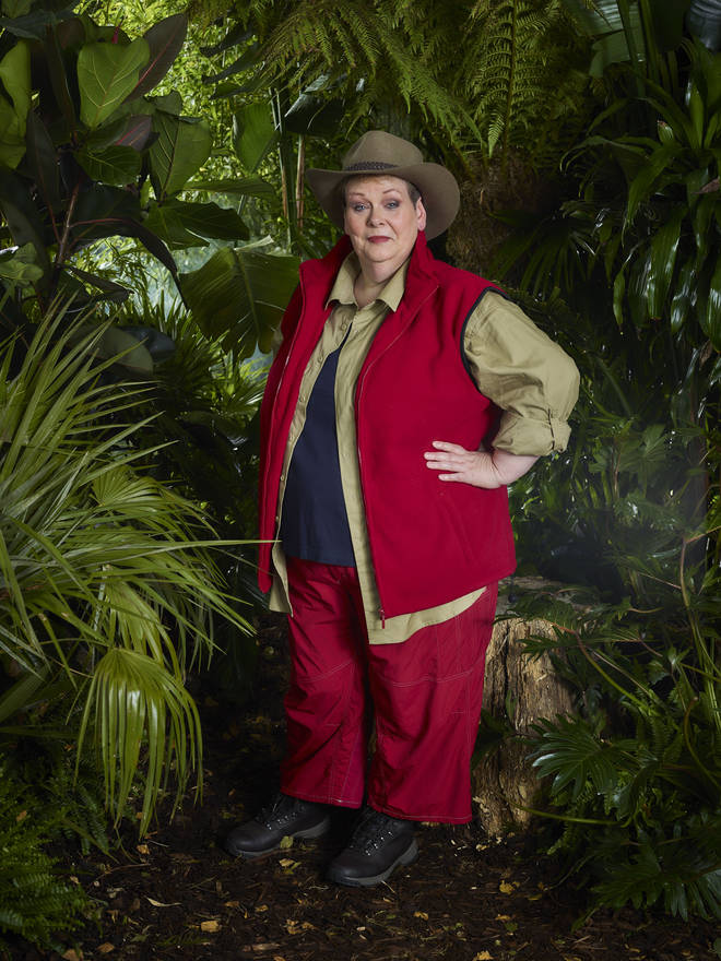Anne Hegerty takes on Hellish Hospital and is unfazed by pigeons