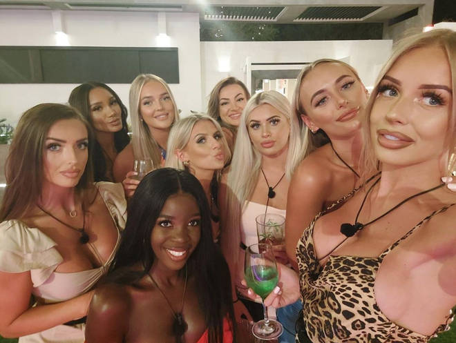 The female cast of season 7 became very close in the Love Island villa