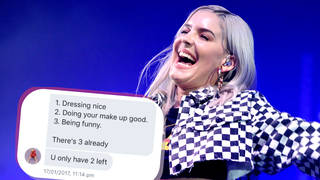 Anne-Marie responded to a fan's posts about her insecurities