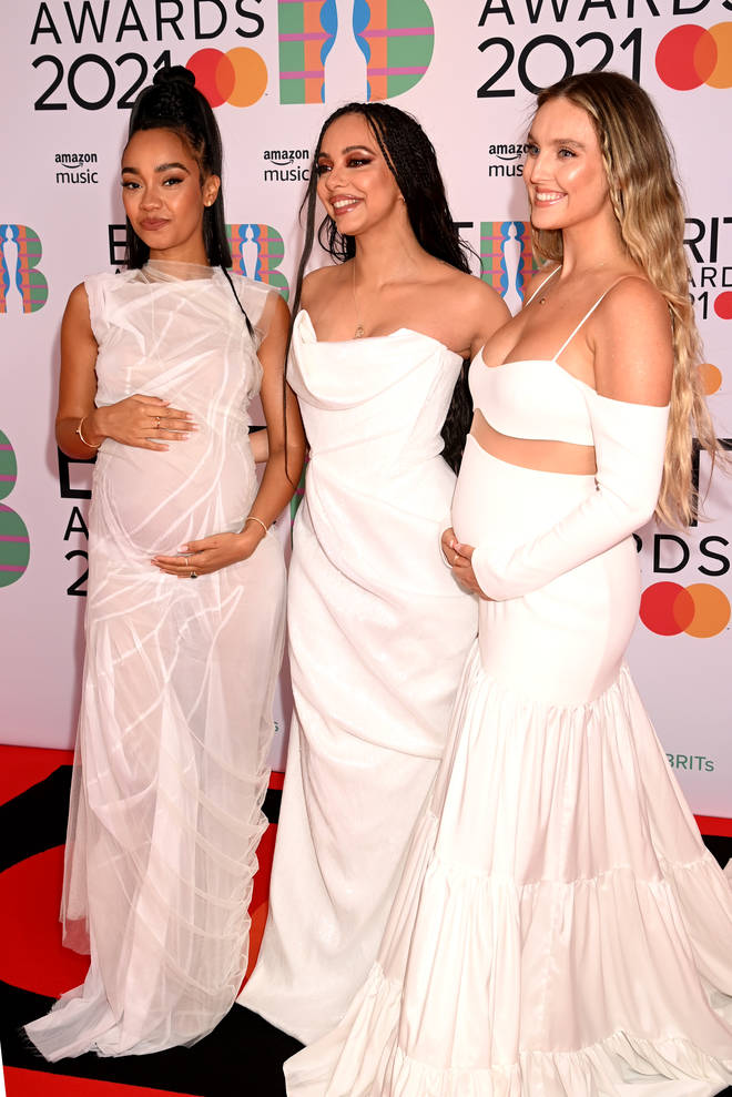 Leigh-Anne and Perrie announced their pregnancies in May