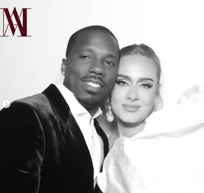 Adele and new boyfriend Rich Paul