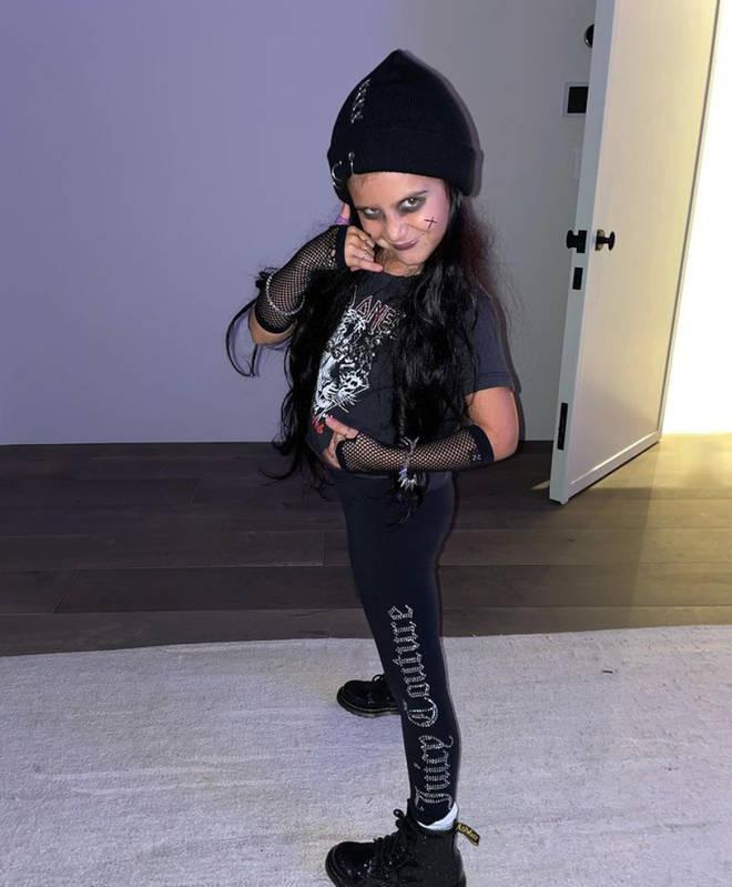 Penelope Disick got a punk makeover from her mum's boyfriend