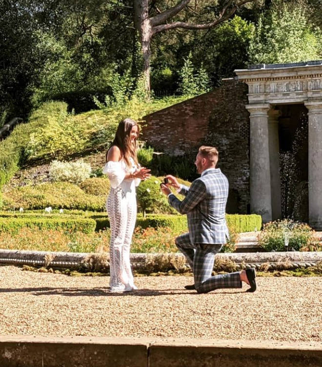 Adam proposed to Tayah at the end of MAFS UK