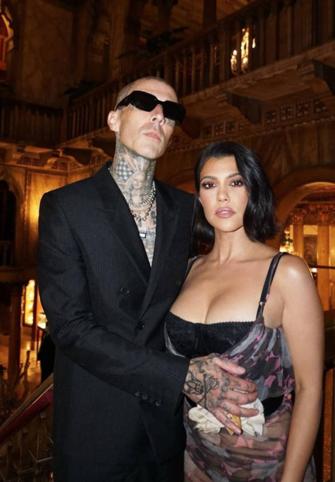 Travis Barker and Kourtney Kardashian are getting involved in each other's family lives