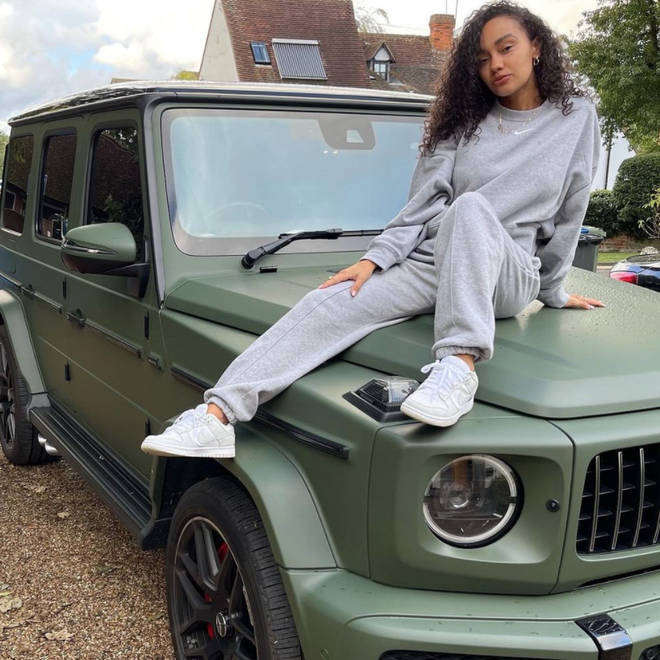 Leigh-Anne Pinnock was gifted her dream car by fiancé Andre Gray