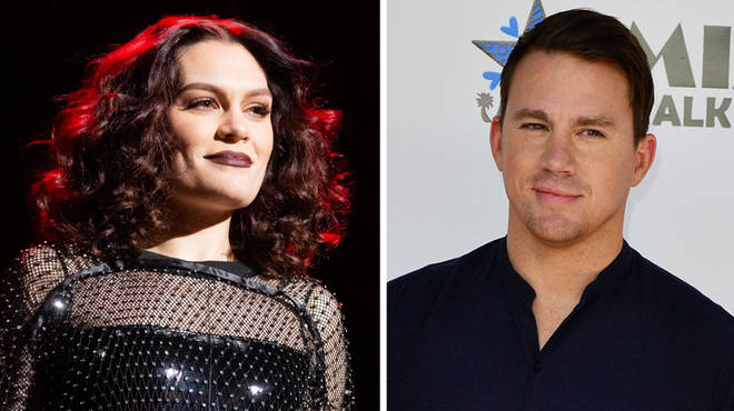 Jessie J was spotted watching Channing Tatum's Magic Mike Live show.