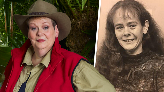 Pictures of Anne Hegerty aged 25 have recently surfaced
