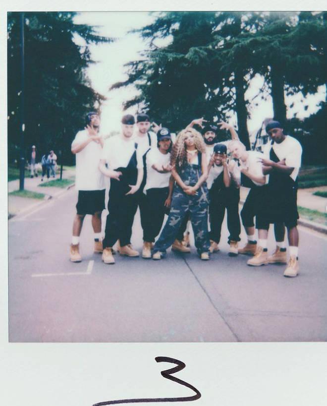 Jesy Nelson's solo single is called 'Boyz'