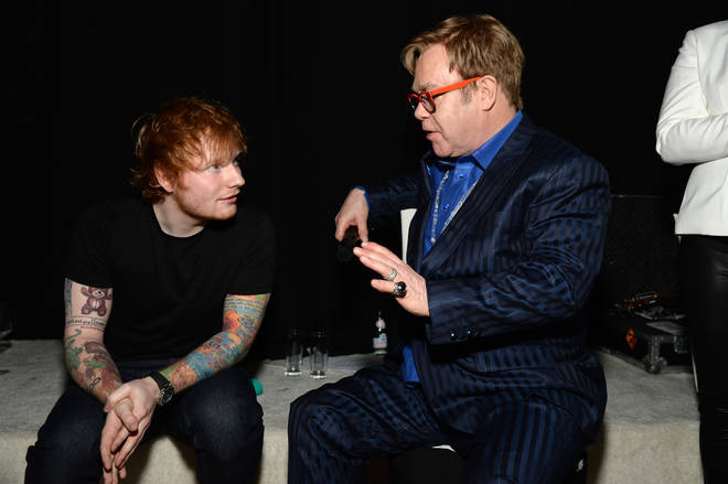 Ed Sheeran and Elton John join musical forces