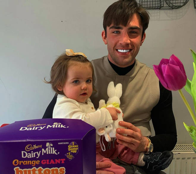 Jack Fincham is a dad to daughter Blossom