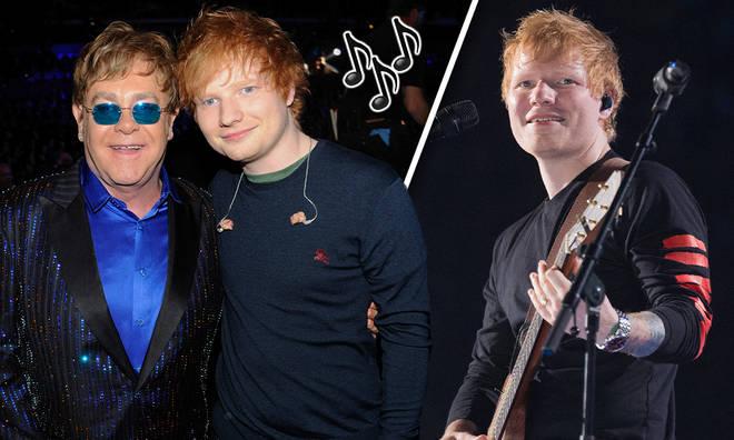 Ed Sheeran announced a Christmas song with Sir Elton John
