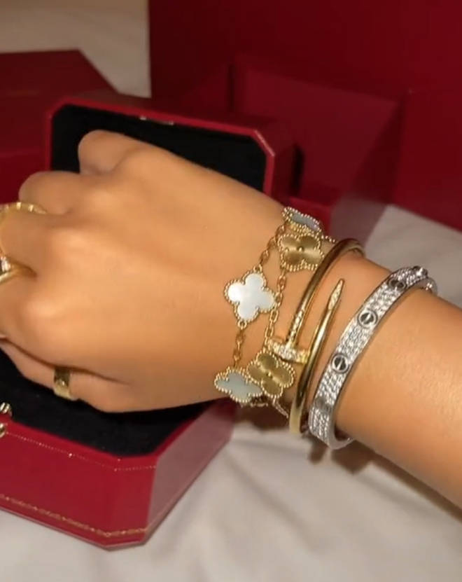 Molly-Mae's wrist jewellery alone is worth over £100k