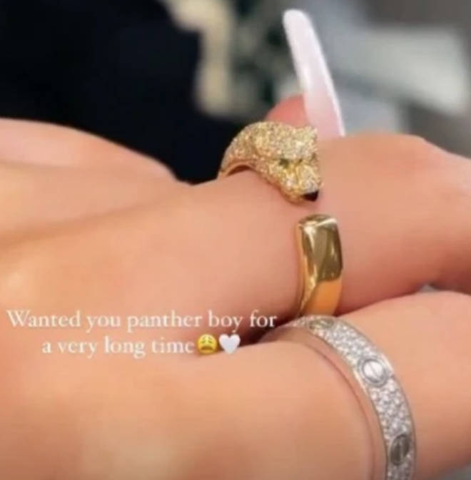 Molly-Mae's rings are worth thousands