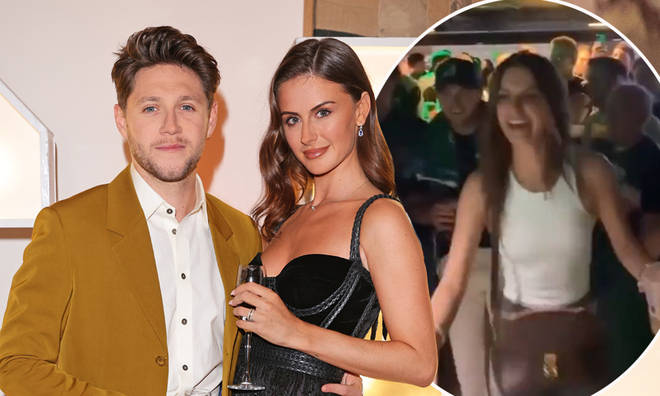 Niall Horan and Amelia Woolley had a night out with their friends