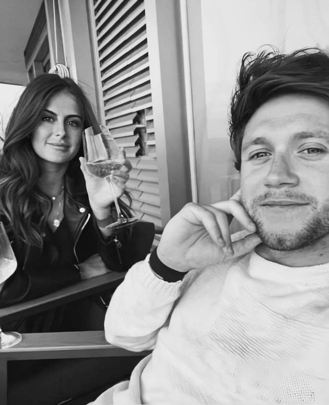 Amelia Woolley's first Instagram post with Niall Horan was this selfie