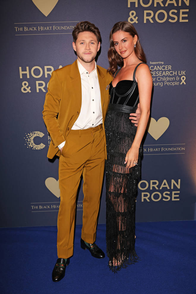 Amelia and Niall made their first public appearance together in September