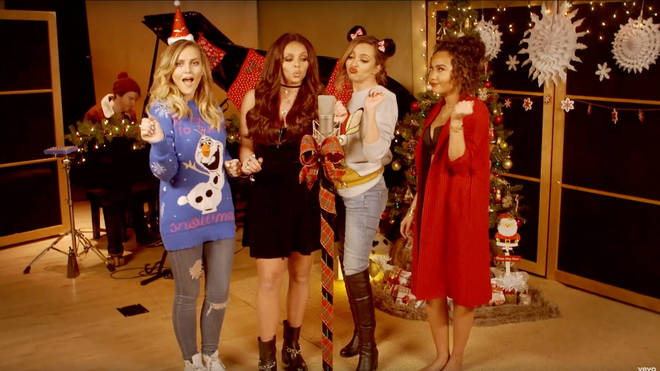 Little Mix's Christmas covers will leave you feeling festive!