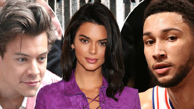 Kendall Jenner is said to have dated Ben Simmons and Harry Styles