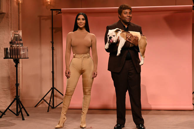 Kim Kardashian impressed fans on SNL