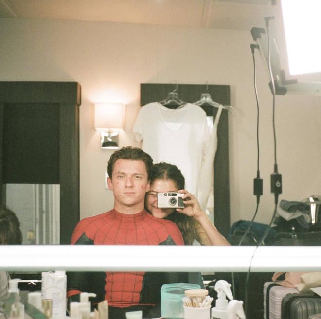 Tom Holland and Zendaya met on the set of Spider-Man
