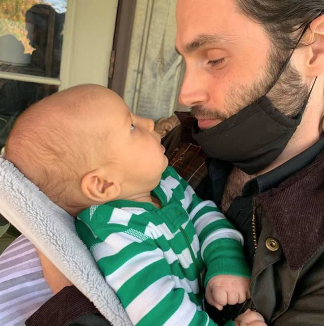 Penn Badgley became a dad in 2020
