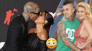 Travis Barker's ex Shanna Moakler has reacted to the Kourtney Kardashian engagement news