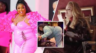 Lizzo twerked to Adele's new single