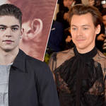 Hero Fiennes Tiffin recalled the moment he crossed paths with Harry Styles