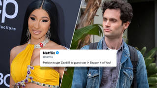 Cardi B and Penn Badgley have developed the sweetest friendship!