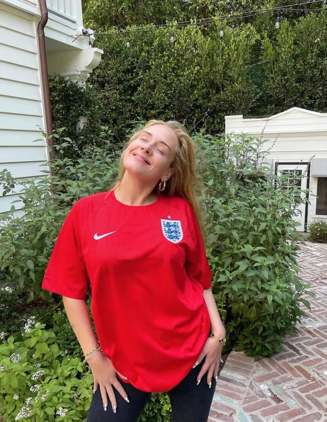 Adele has a 'very English' home