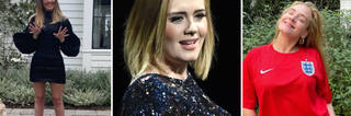Adele gave a glimpse inside her home