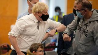 Boris Johnson wants everyone to get jabbed