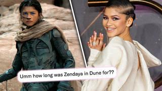 Zendaya had a surprisingly short screen time in Dune