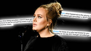 Adele had to cancel two shows in 2017 due to issues with her vocal cords