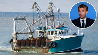 A British fishing trawler has been detained in France.