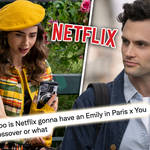 Could we get a You X Emily in Paris crossover?