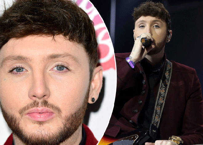 James Arthur performing