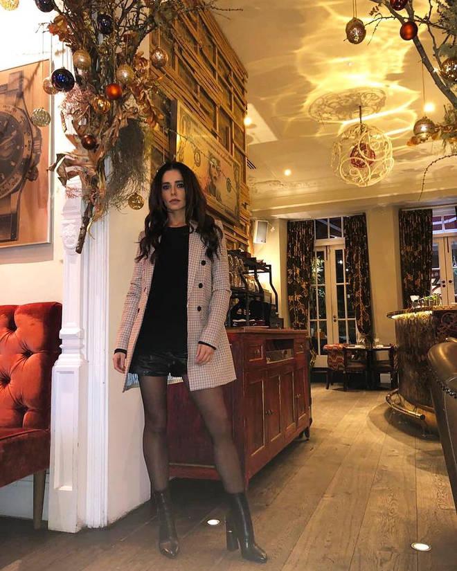 Cheryl Cole is feeling festive on Instagram