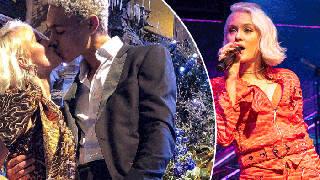 Zara Larsson and her boyfriend Brian are smitten
