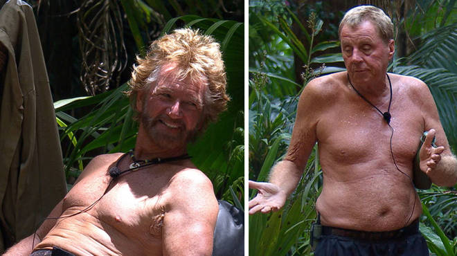 Harry Redknapp has lost the most weight in the camp