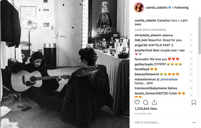 Camila Cabello & Shawn Mendes tease new music together