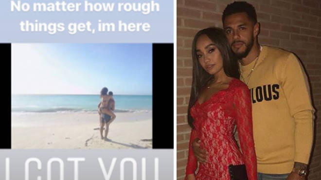 Andre Gray posted about supporting Leigh-Anne Pinnock.