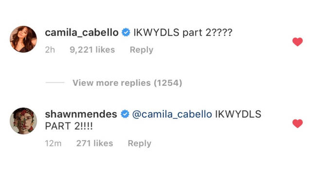 Camila Cabello & Shawn Mendes tease 'I Know What You Did Last Summer 2'