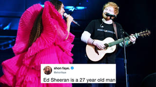 Ed Sheeran responds to criticisms of his outfit at Global Citizen Festival