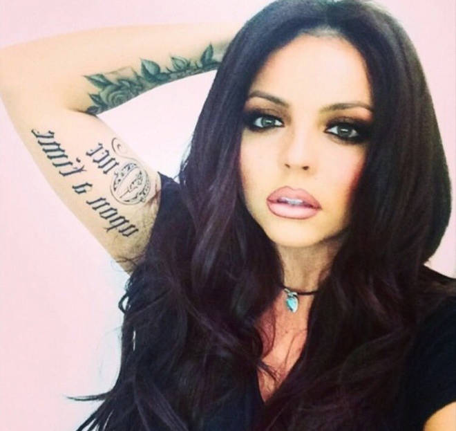 Jesy Nelson's 'Once Upon A Time' ex inspired tattoo