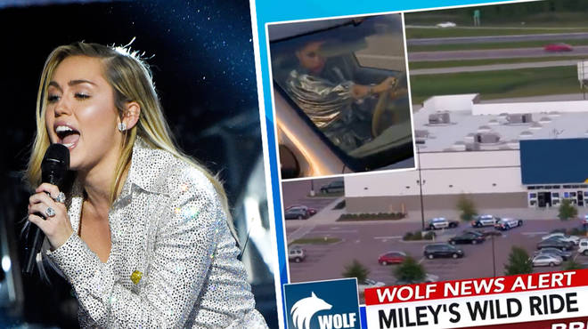 'Miley's Wild Ride' was NOT an intentional reference