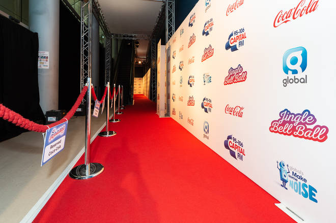 The red carpet has been rolled out at the Jingle Bell Ball